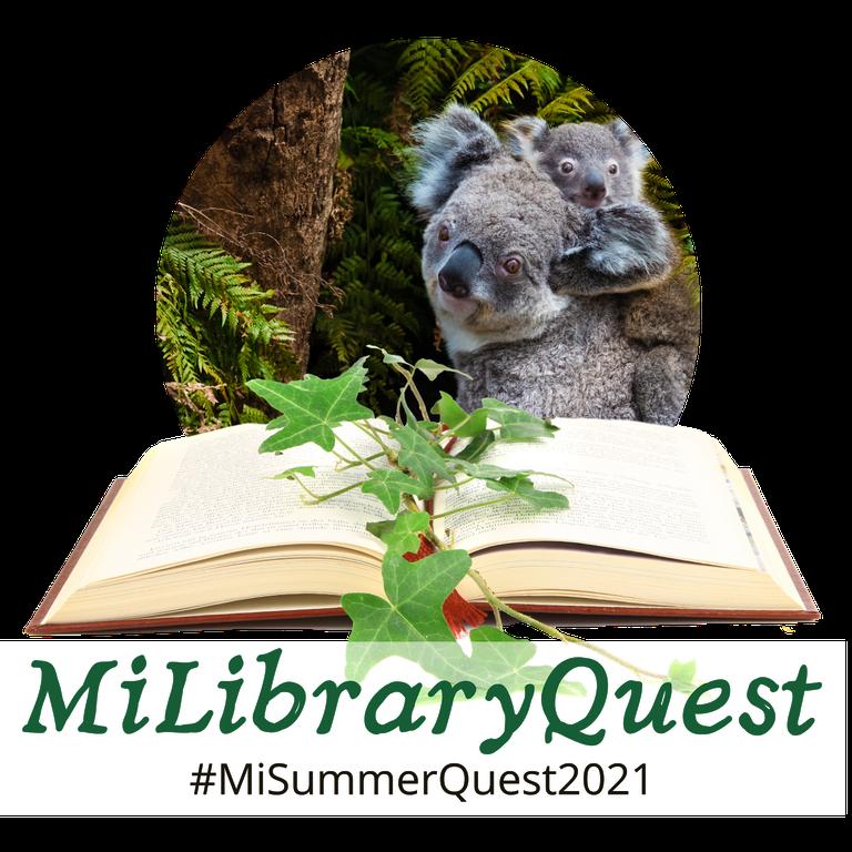 MI Library Quest Summer Logo
