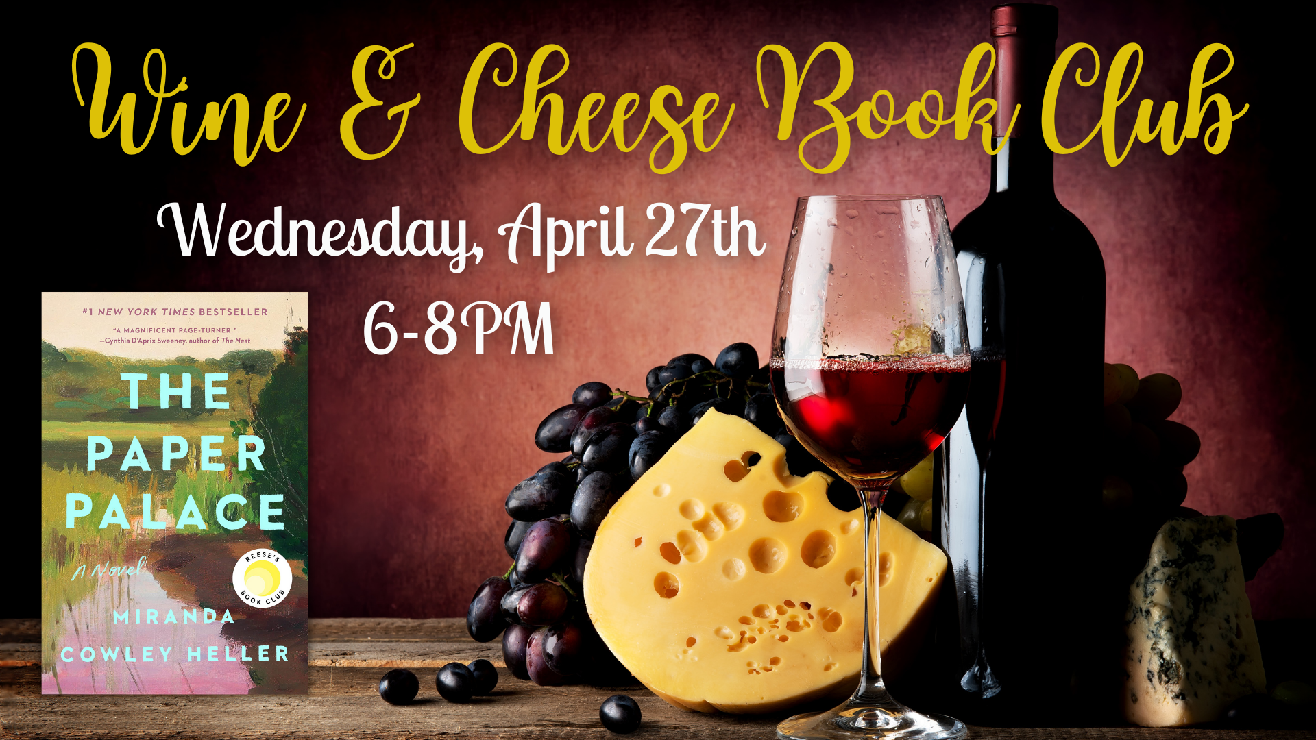 Wine and Cheese Book Club